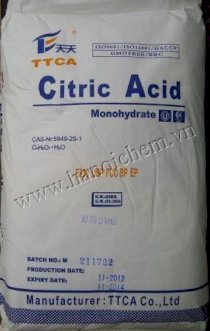 Citric Acid anhydrous (25kg/bao)