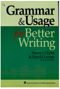 Grammar & Usage for better writing