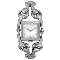 Gucci Women's YA116307 Signoria Collection Diamond Stainless Steel Watch