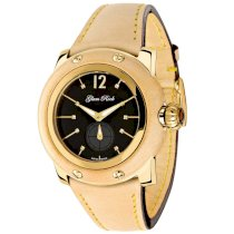 Glam Rock Women's GR40009 Palm Beach Collection Diamond Accented Beige Leather Watch