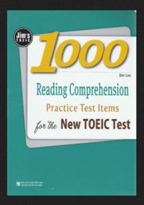 Jim's toeic - 1000 reading comprehension for the new toeic test