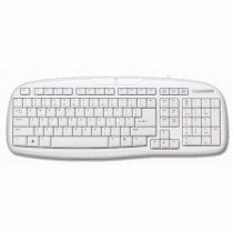 Logitech NewTouch Keyboard 100 PS/2 - White