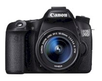 Canon EOS 70D (EF-S 18-55mm F3.5-5.6 IS USM) Lens Kit