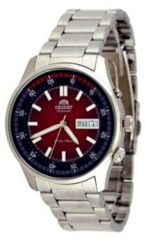 Orient Marshall #EM7E005H Men's Stainless Steel Day/Date 50M Self Winding Automatic Watch