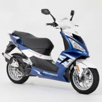 Peugeot Speedfjght 3 Air Cooled 50cc 2013 ( Trắng xanh )