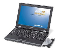 Lenovo 3000-V100 (Intel Core Duo T2300 1.66Ghz, 1GB RAM, 160GB HDD, VGA Intel GMA 950, 12.1 inch, PC Dos)