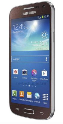 Samsung Galaxy S4 mini (Galaxy S IV mini / GT-I9192) Brown