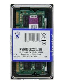 Kingston DDR II 2GB buss 800