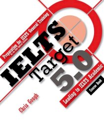 IELTS target 5.0 (Bao gồm course book, workbook, 3 mock tests và 1 đĩa MP3)