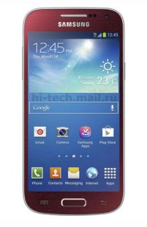 Samsung Galaxy S4 mini (Galaxy S IV mini / GT-I9190) Red