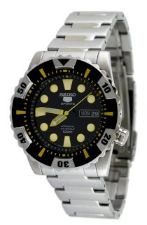 Seiko 5 Sports #SNZJ15J1 Men's Stainless Steel Self Winding Automatic Watch (Made in Japan)
