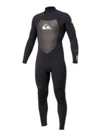 Quiksilver Syncro 3/2 Back Zip Fullsuit new NWT men's wetsuit