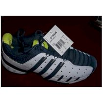 Giầy tennis New Men's Adidas Sport Tennis Barricade 4 White/Blue/Yellow Shoes Size 10.5