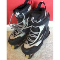 K2 Fatty Pro Aggressive Inline Skates Size 7 With Dawes Chassis!