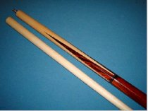 J&J Jump Break Cue, Phenolic Tip, Three Piece Pool Cue