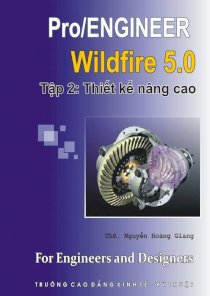 Sử dụng Pro/Engineer Wildfire 5.0 - Tập 2