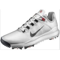 Nike Mens TW Tiger Woods 2013 Golf Shoes White New