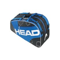 Head Elite Combi Blue Tennis Bag X6 Pack Up to 6 racquets Back-pack straps