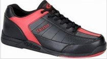 Dexter Ricky III Black/Red Mens Bowling Shoes