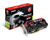 MSI N760 TF 2GD5/OC (GeForce GTX 760 Gaming, GDDR5 2GB, 256 bits, PCI Express x16 3.0)
