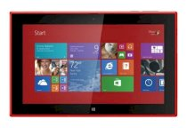 Nokia Lumia 2520 (Nokia RX-114) (Quad-Core 2.2GHz, 2GB RAM, 32GB Flash Driver, 10.1 inch, Windows 8.1 RT) WiFi, 4G LTE Model For AT&T - Red