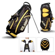 Team Golf United States Army Fairway Golf Stand Bag Black/Yellow 57828