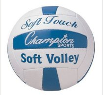 Champion Soft Touch Volleyball VB6 Official Size Weight Synthetic Leather