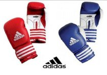 Adidas Ultima Competition Boxing Gloves Sz 8-16 Oz Leather Red Or Blue ClimaCool
