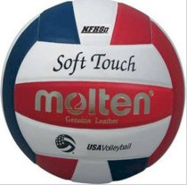 Molten IV58L-3-HS Soft Touch USAV Official NFHS Approved Volleyball