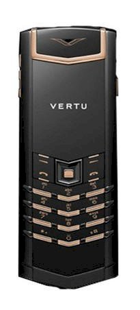 Vertu Signature Precious Black Red Gold Mixed Metals