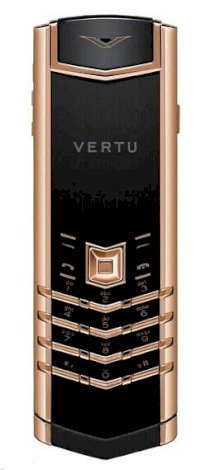 Vertu Signature S Red Gold Black Ceramic