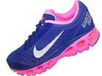 Womens Nike Air Max Tailwind+5 Running Shoe Royal Blue Silver Pink 555415-406