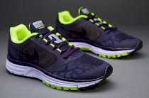Nike Zoom Vomero + 8 Shield Womens Running Free Air Shoe Cheetah Max Purple Volt