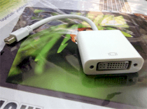 Mini DisplayPort, ThunderBolt to DVI 24+5