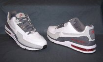 Nike Air Max LTD Running Sneakers Leather White Grey Red Mens Size 11.5