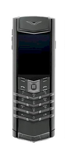 Vertu Signature Zirconium with rubberized Alligator leather