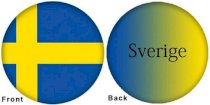 OTBB - Flag - Sweden Bowling Ball