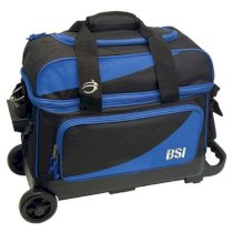 BSI 2 Ball Roller Bag - Black/Blue