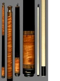 New Samsara JB-03 Jump/Break Pool Cue - No Wrap - FREE 2x2 Case & Extras