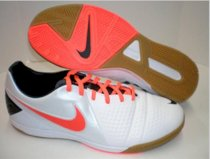Mens Nike CTR 360 Libretto III IC White Total Crimson Black Futsal Indoor Soccer
