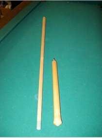 Custom Jump Pool Cue - G10 Predomed Ferrule Tip Combo - Excellent Jumper !!!