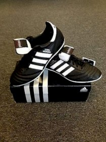 Adidas Copa Mundial FG Made in Germany Soccer Authentic Black/White
