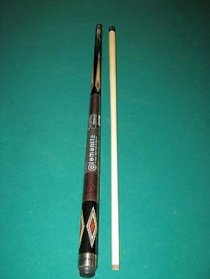 McDermott Element Dual Core Graphite Pool Cue - Tip Choice - Joint Protectors