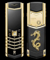 Thay da Vertu Signature S Dragon Gold