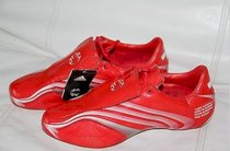 NEW Adidas Soccer RED Cleats Shoes Tunit X-32 +F 50 Size 10