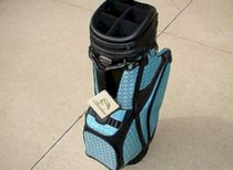 New Burton Ladies Golf Bag Siena Black/Blue Cart Golf Bag 4 Free Headcovers