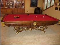 Golden West Victorian Pool Table - Very Light Use