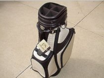 New Burton Ladies Golf Bag Siena Brown/Cream Cart Golf Bag 4 Head Covers