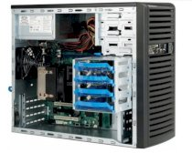 Supermicro SuperChassis CSE-731i-300B Black Mid-Tower