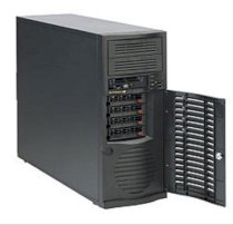 Supermicro SuperChassis CSE-742T-500B Black Mid-Tower